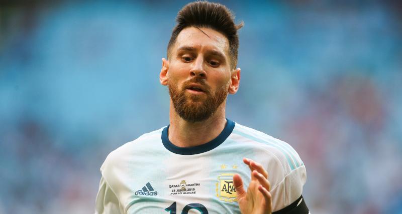 FC Barcelone, RC Lens : Medina a joué avec l'Argentine, Messi s'est embrouillé !