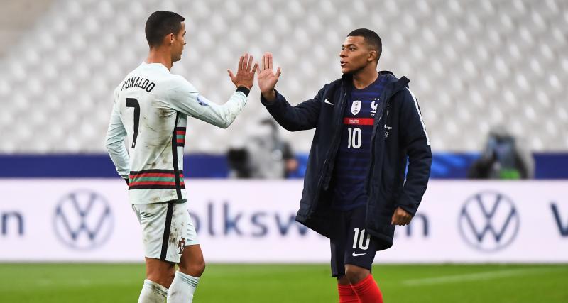 PSG : les mots échangés entre Mbappé et CR7 lors de France - Portugal enfin révélés