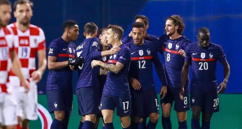 Résultat Ligue des Nations : Croatie 1-2 France (terminé)