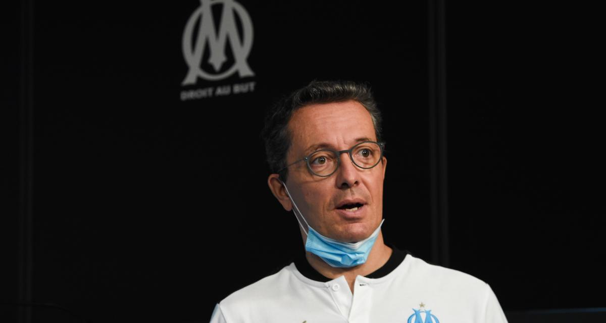 OM: Villas-Boas, le FPF, Mediapro, l'affaire Alvaro... Eyraud n'élude aucun sujet!