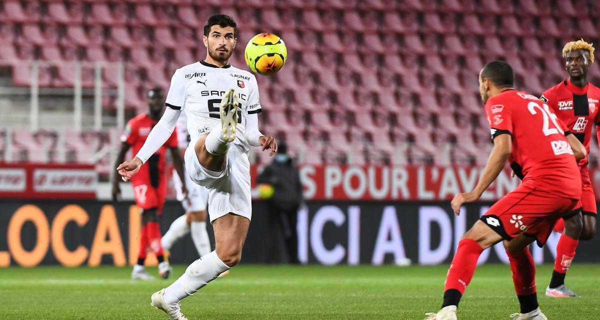 Résultat Ligue 1 : le Stade Rennais accroché par Dijon avant Krasnodar (1-1)