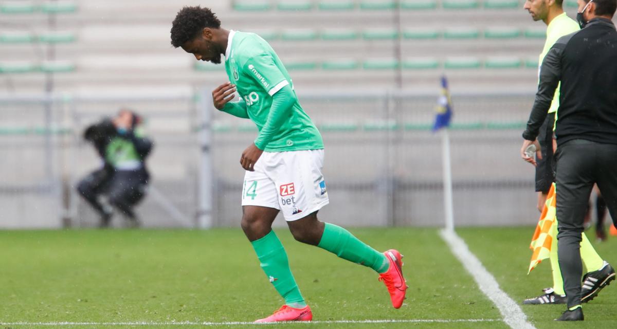 ASSE - OGC Nice : un jeune attaquant des Verts pourrait vivre sa première titularisation !