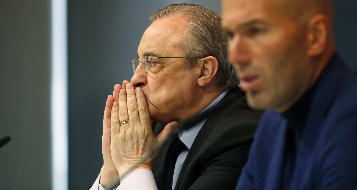 Real Madrid – Mercato: un ex-indésirable pourrait provoquer des tensions Zidane - Perez