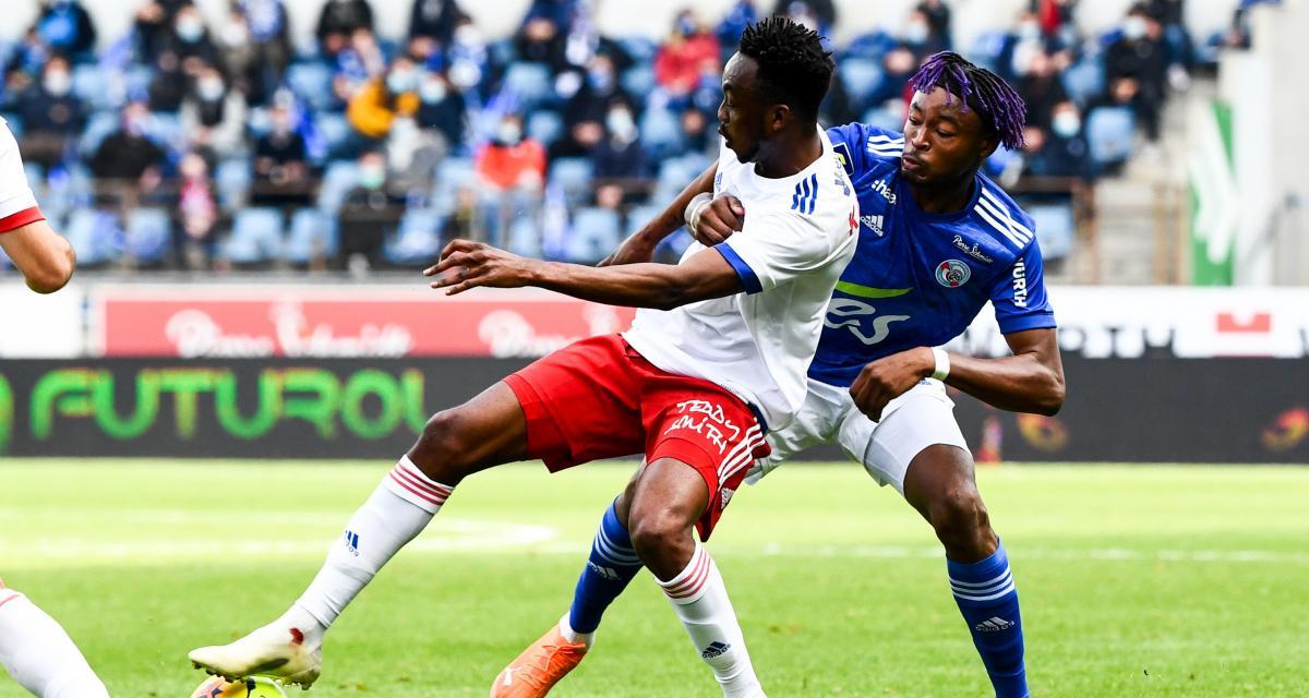 Résultat Ligue 1 : l'OL redresse la tête à Strasbourg (3-2)