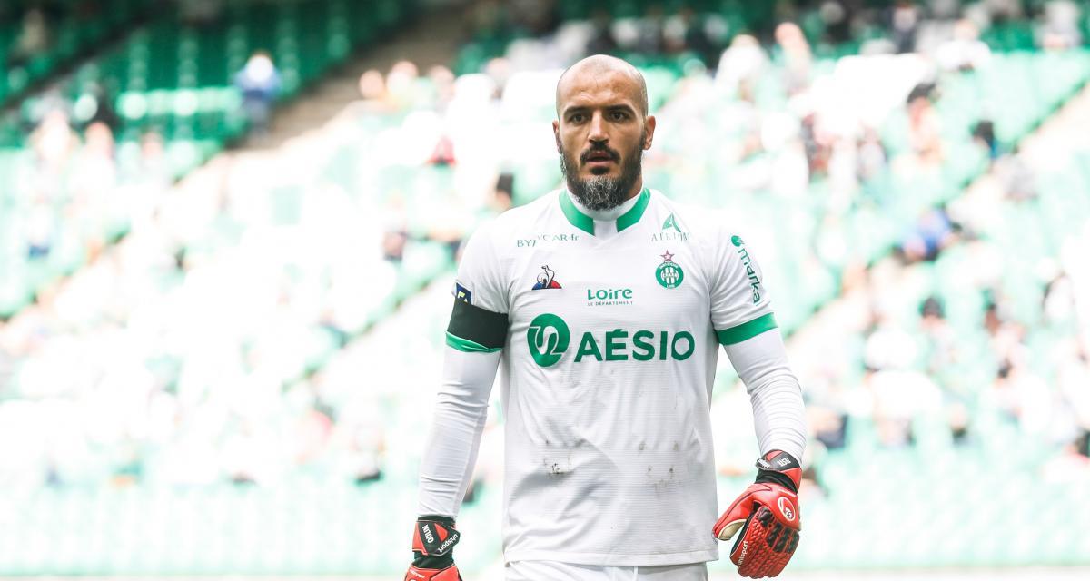 Résultat Ligue 1 : première période cauchemar pour l'ASSE face à l'OGC Nice (0-2, mi-temps)