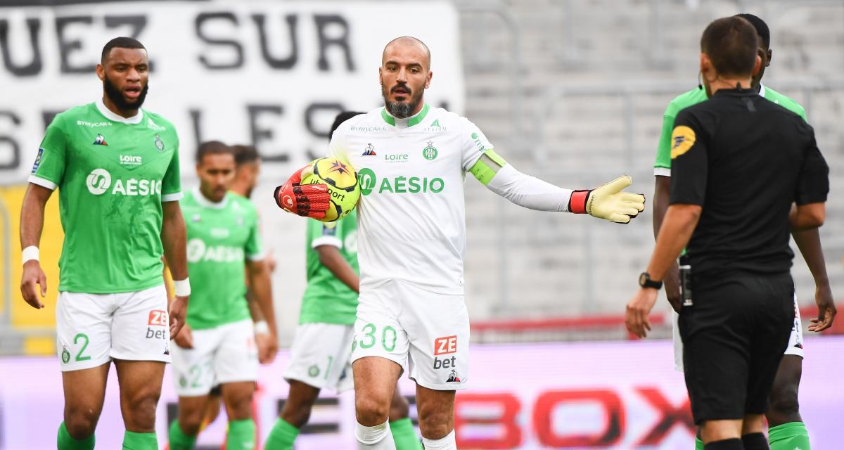 ASSE – OGC Nice (1-3) : Puel vole au secours d'un Jessy Moulin critiqué