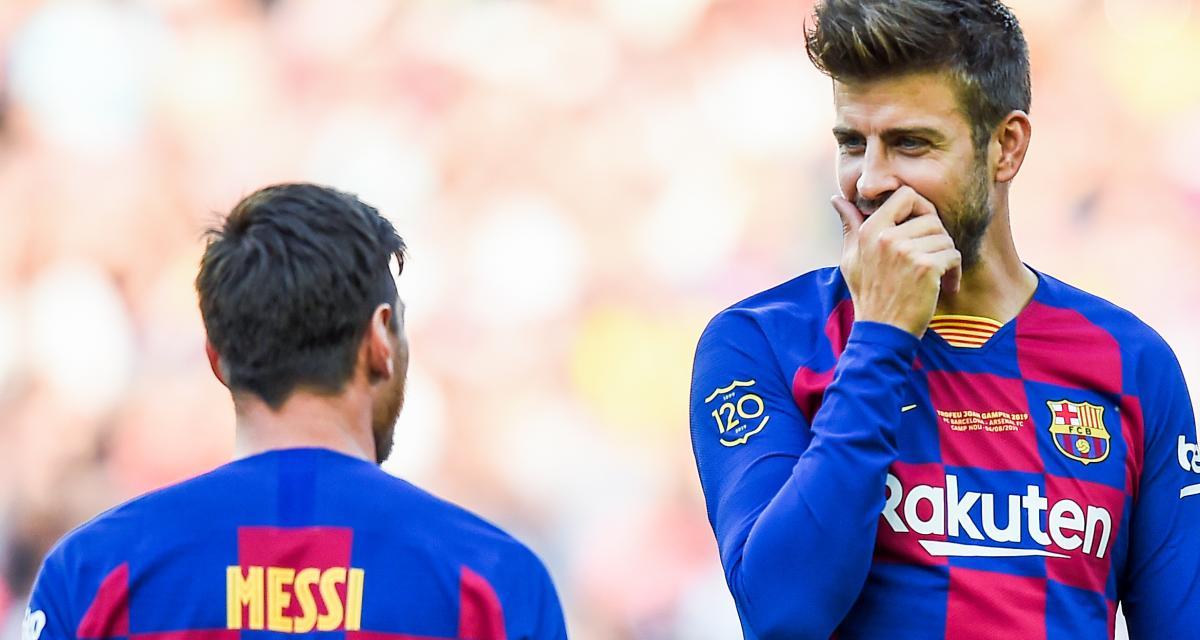 FC Barcelone: la trahison de Piqué passe mal chez Messi and Co