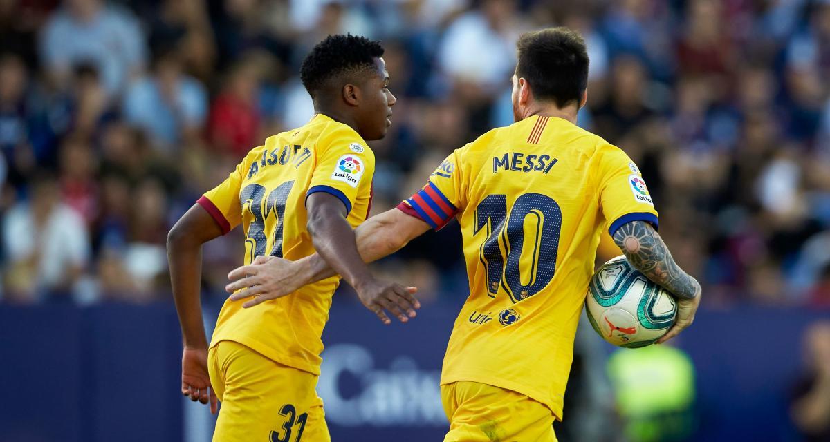 FC Barcelone - Mercato : la direction veut blinder le chouchou de Lionel Messi