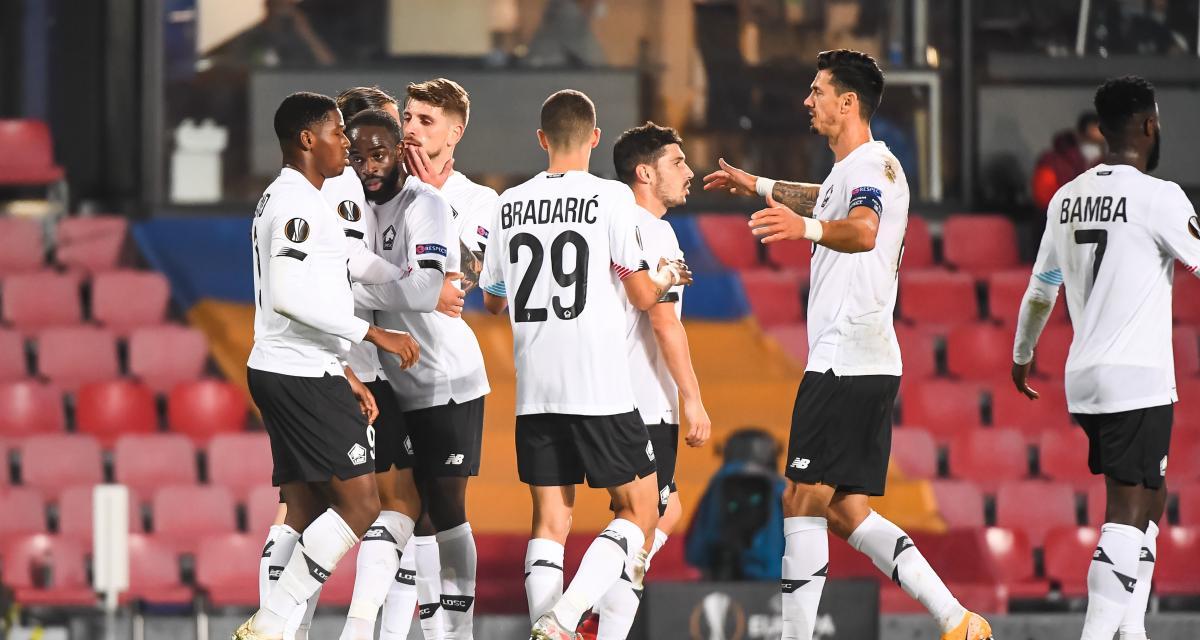 Résultats Ligue Europa: le LOSC sauve le football français (1-4), Milan, Leicester et Tottenham tiennent leur rang