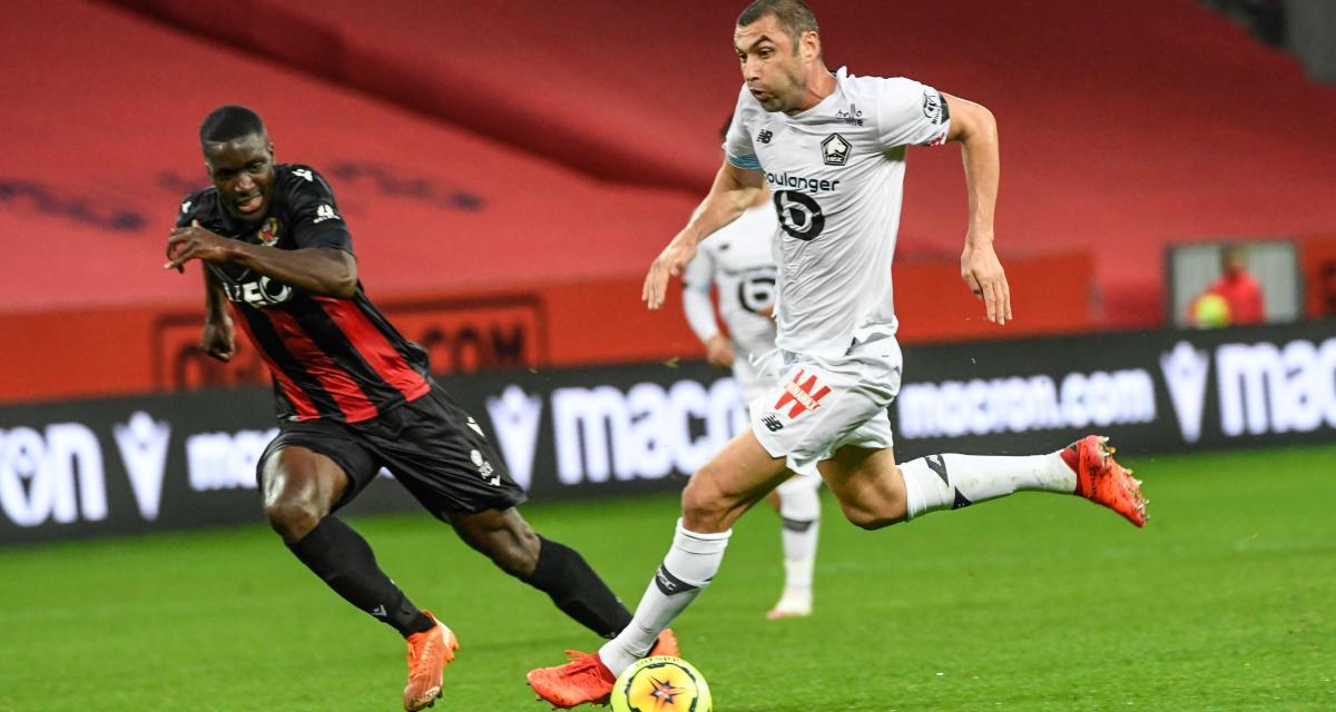 Résultat Ligue 1 : le LOSC accroché face à Nice (1-1)