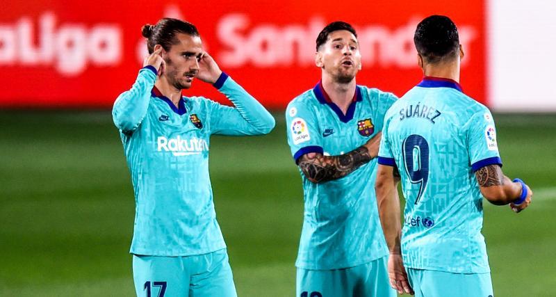 FC Barcelone - Mercato : l'éclosion de Griezmann est entre les mains de Messi