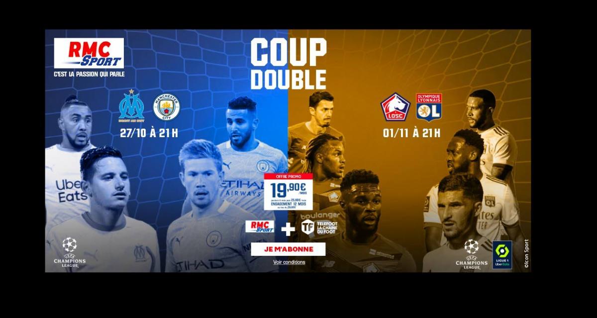 Ligue des Champions : pourquoi vous devez suivre OM-Manchester City sur RMC Sport
