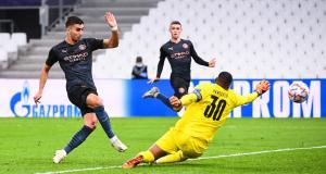 Résultats Champions League : l'OM se fait manger par City (mi-temps)