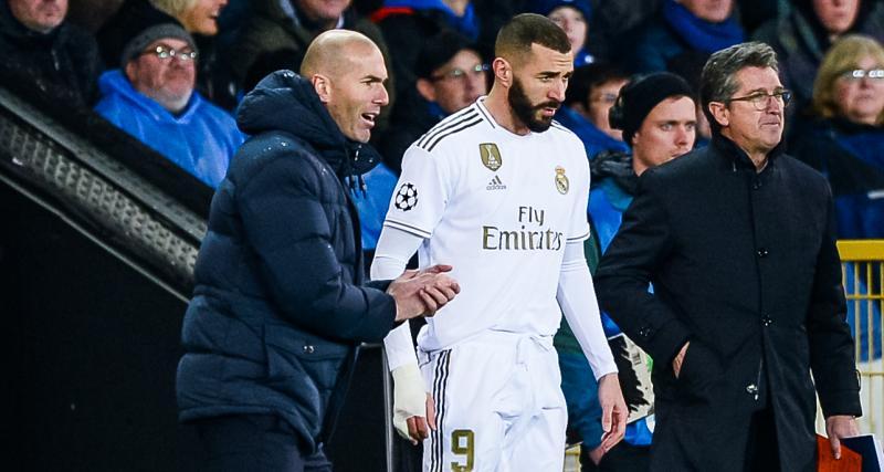 Real Madrid : en interne, Zidane a pris position pour Benzema face à Vinicius