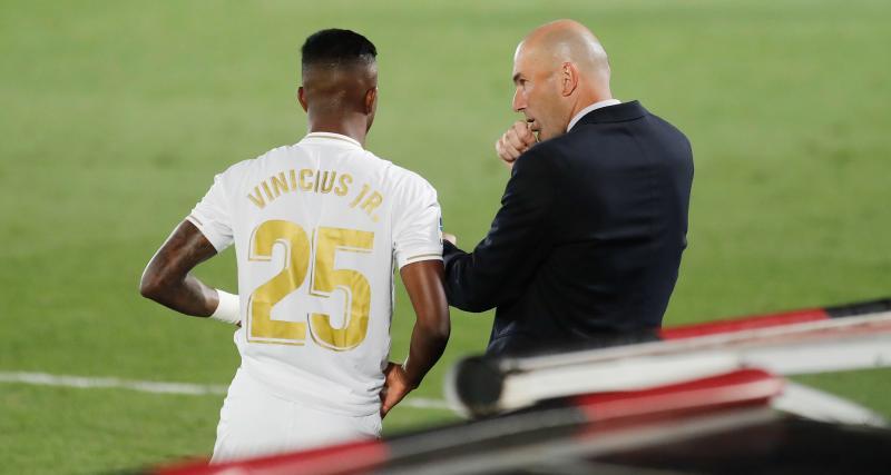 Real Madrid- Huesca (4-1): Zidane a tranché, Vinicius Jr peut s'inquiéter