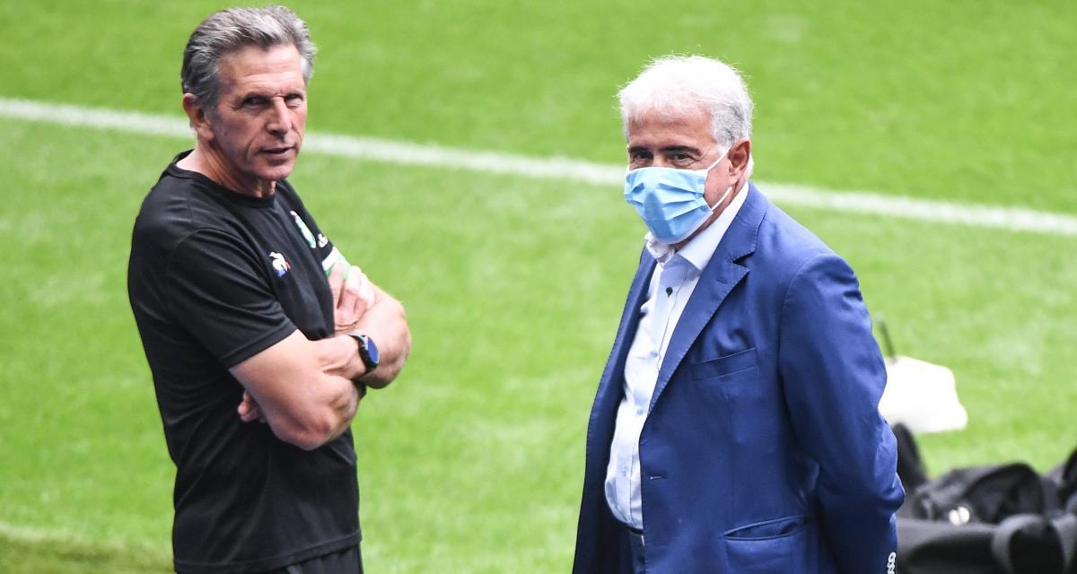 ASSE : Claude Puel vacille après la défaite contre Montpellier