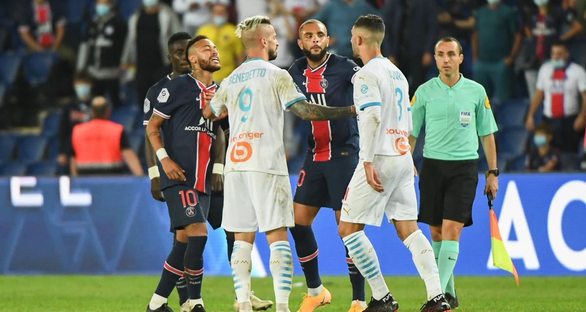 PSG - OM (0-1) : le scandale avec Neymar resurgit pour Alvaro Gonzalez