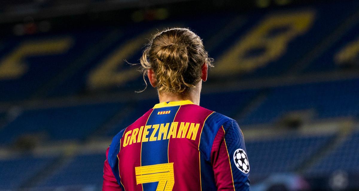 FC Barcelone : le malaise Griezmann symbolisé par un chiffre