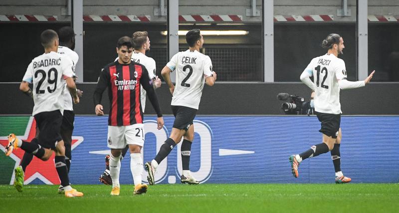 Résultats Ligue Europa: le LOSC mène à Milan (1-0, mi-temps)