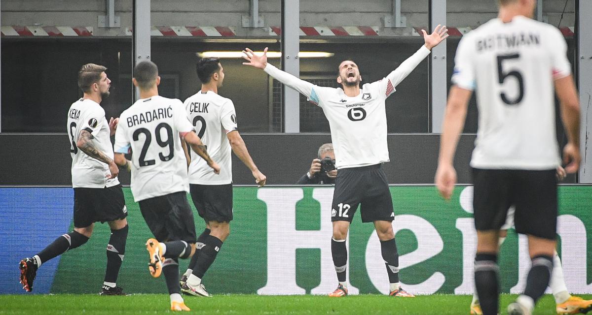 AC Milan – LOSC (0-3): les 5 Dogues-clés de l'exploit à San Siro