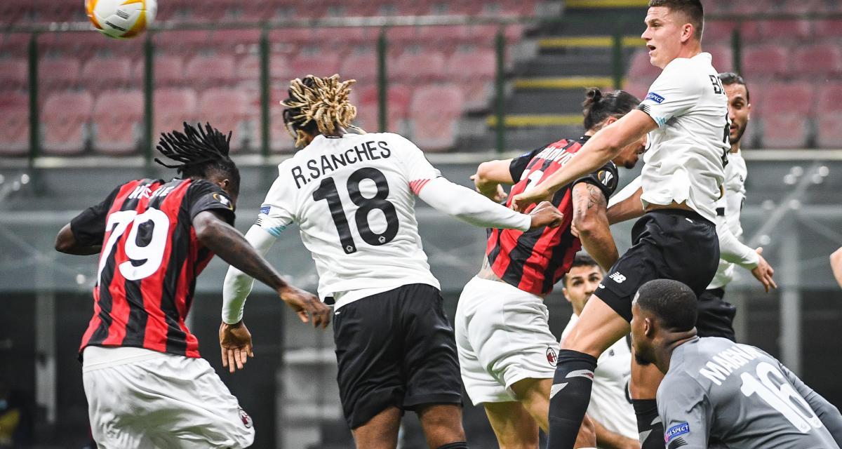 Résultats Ligue Europa: le LOSC écrase le Milan AC à San Siro, les scores du soir