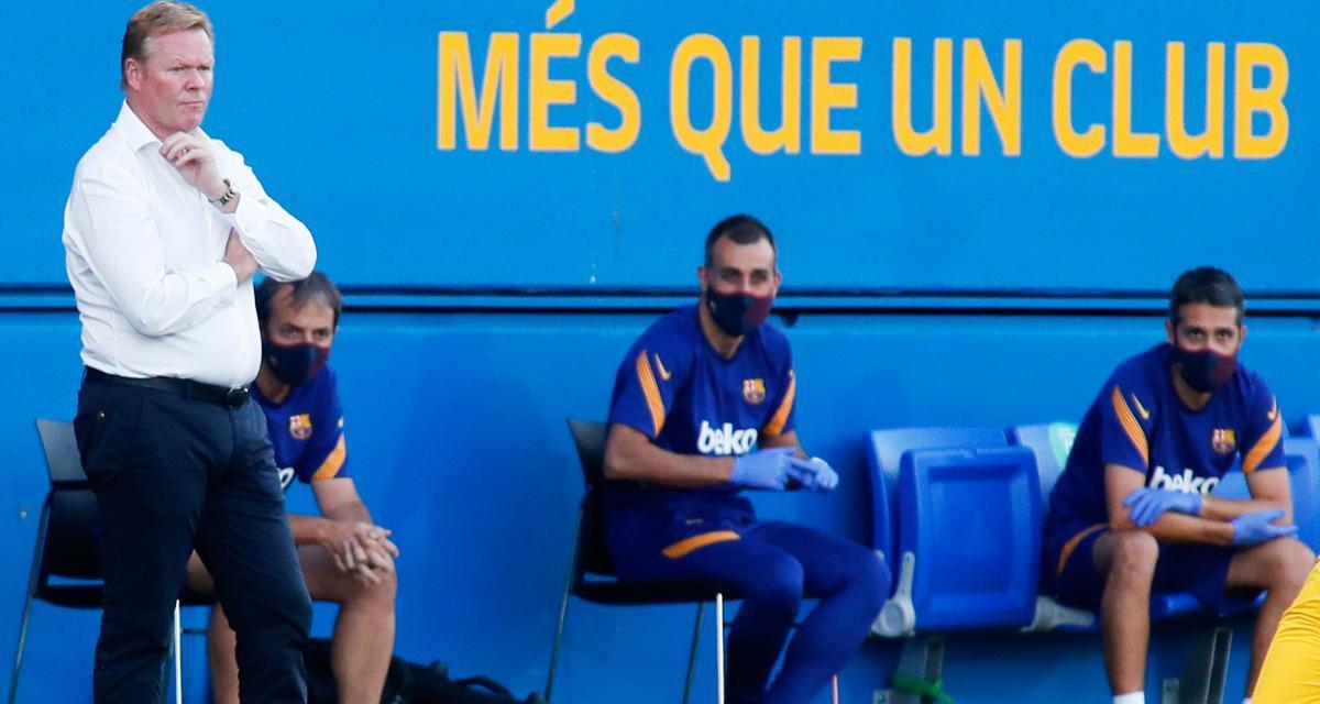FC Barcelone : Koeman balaye la dernière polémique sur Messi