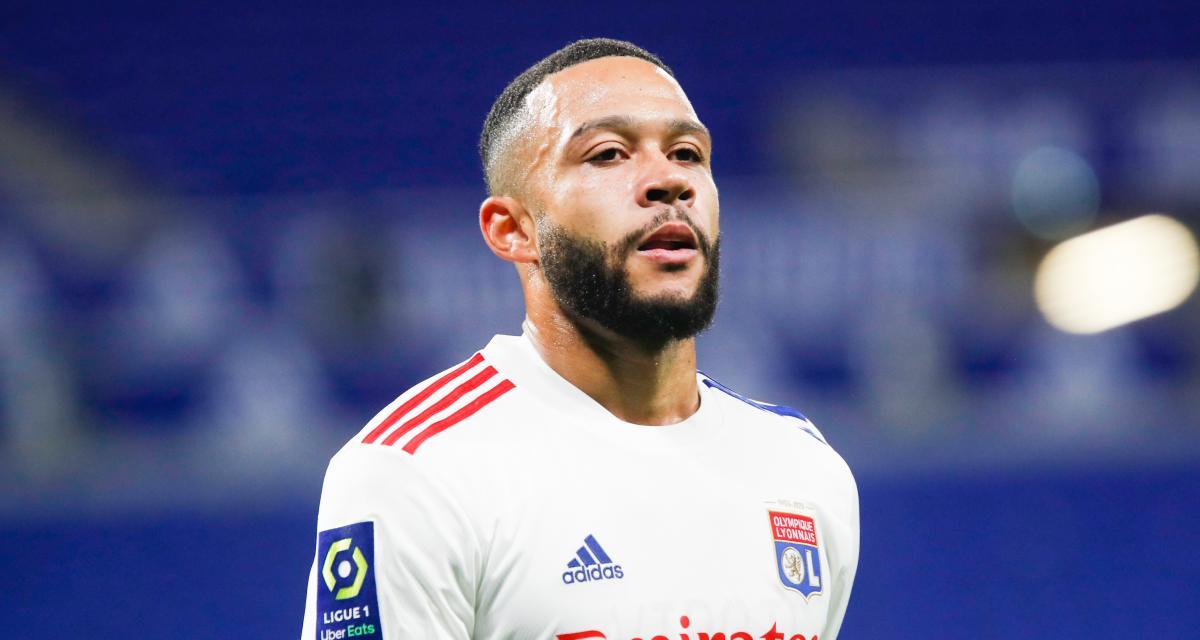 OL – ASSE : Memphis Depay chauffé par le derby depuis son premier jour à Lyon