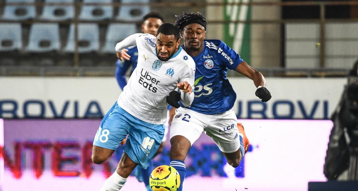 Résultat Ligue 1 : l'OM assure l'essentiel sur la pelouse de Strasbourg (0-1)