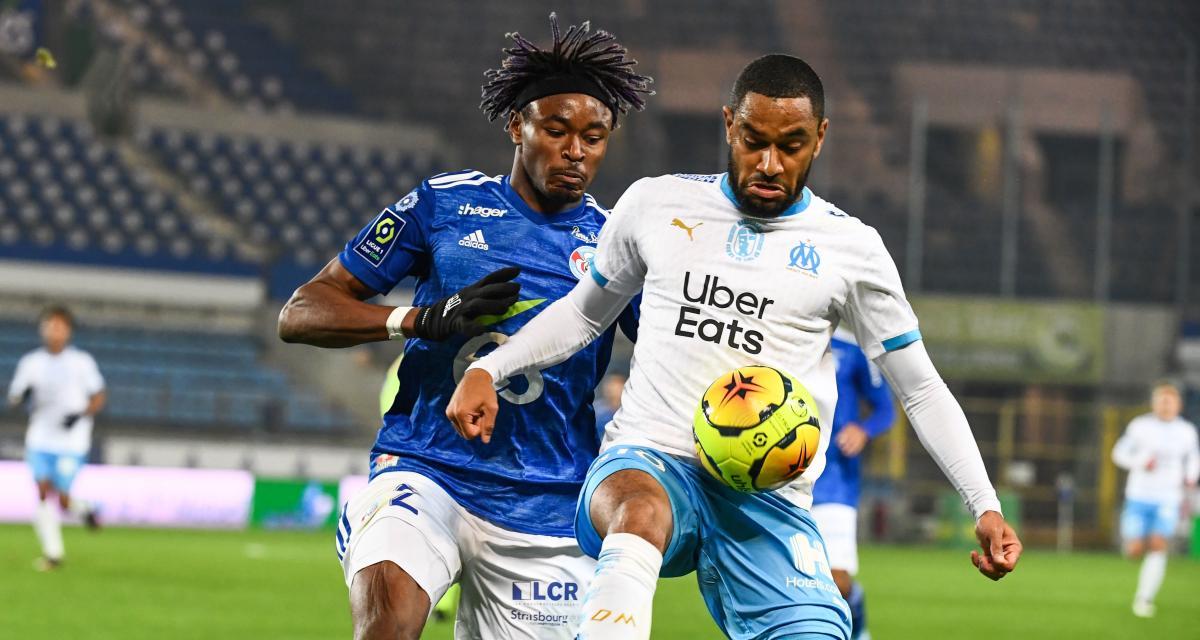 RC Strasbourg – OM (0-1) : Simakan dépité après le penalty non sifflé en toute fin de match