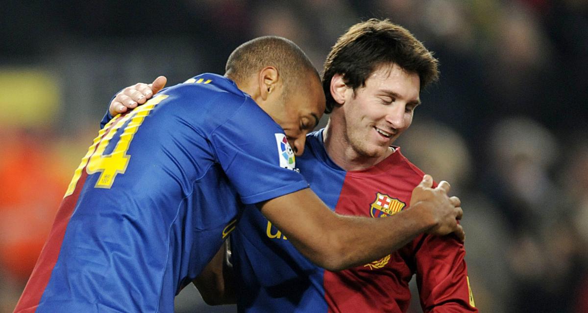 FC Barcelone : Thierry Henry clôt définitivement le débat sur Lionel Messi