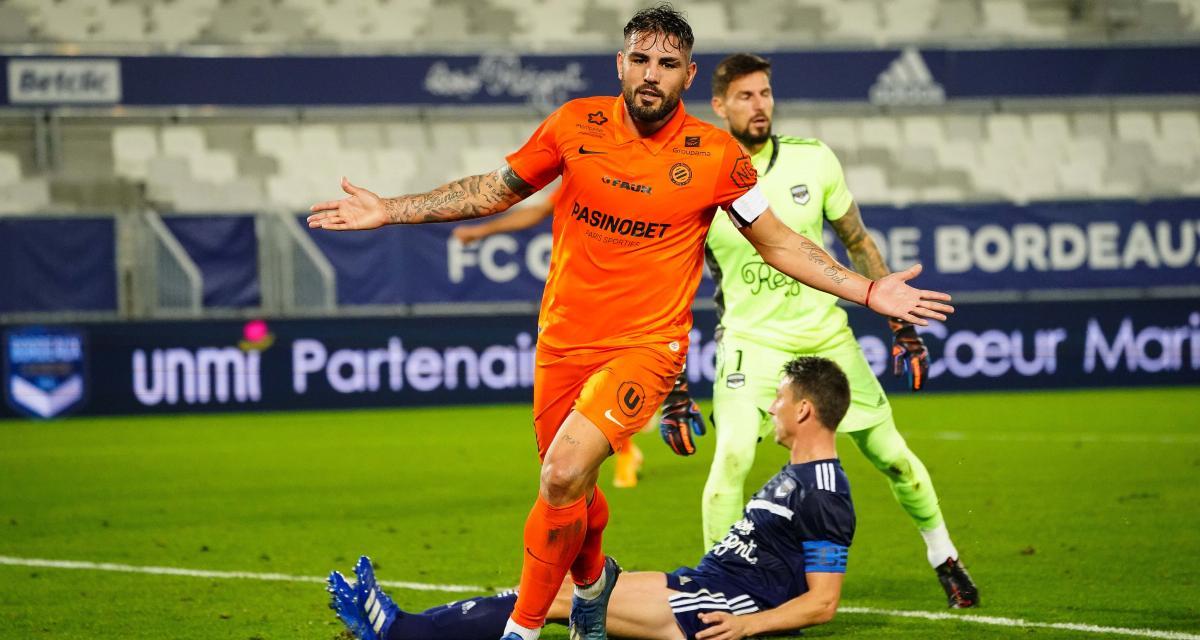 Résultat Ligue 1 : Montpellier réussit son coup, les Girondins ne sont plus invincibles à la maison (2-0)