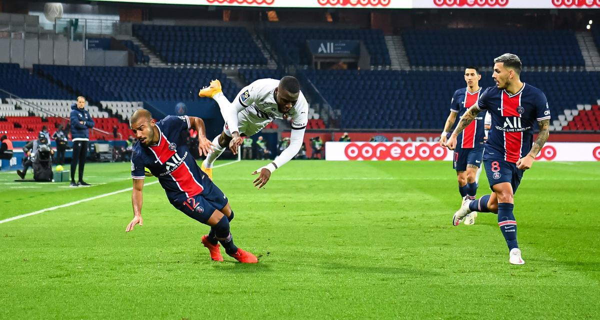 Résultat Ligue 1: malgré les pépins, le PSG domine facilement le Stade Rennais (3-0)