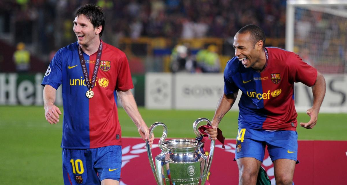 FC Barcelone : Thierry Henry pousse un énorme coup de gueule pour défendre Lionel Messi