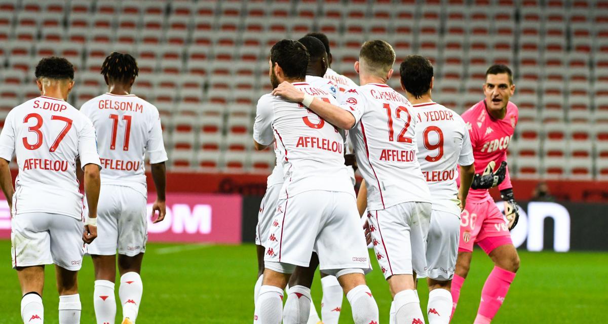 Résultat Ligue 1 : l'AS Monaco mate l'OGC Nice dans le derby de la Côte d'Azur (1-2)