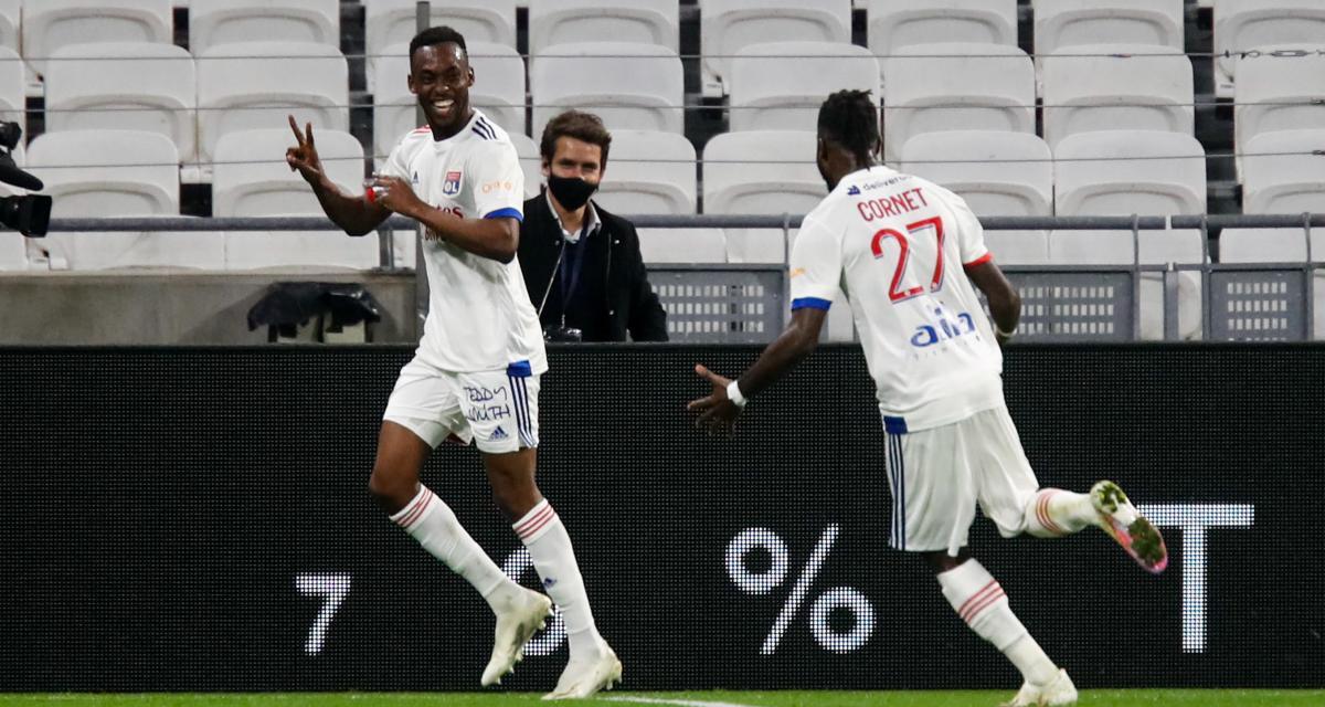 """OL - ASSE (2-1) : Tino Kadewere heureux d'avoir réalisé son """"rêve"""" face aux Verts"""