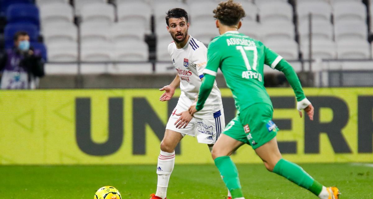 OL - ASSE (2-1) : le chambrage de mauvais goût de Léo Dubois après le pénalty raté de Denis Bouanga
