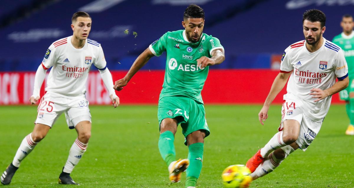 OL - ASSE (2-1) : le nouveau pourfendeur n°1 des Verts les réhabilite après le derby