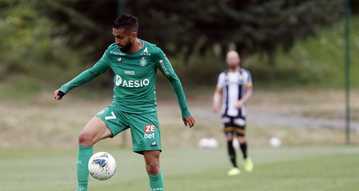ASSE : Boudebouz toujours pas titulaire avec les Verts !