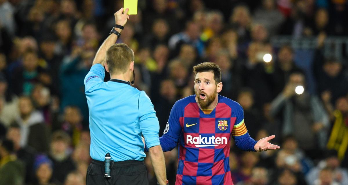 FC Barcelone : Lionel Messi sèchement remis à sa place par un arbitre
