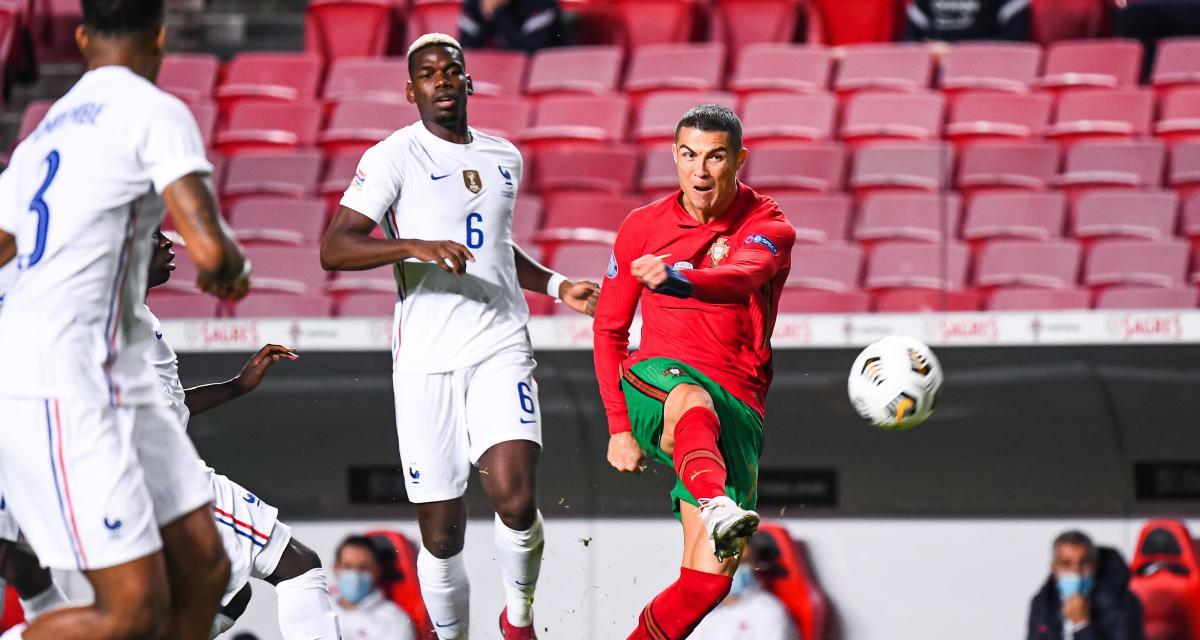 Résultat Ligue des Nations : dominatrice, la France bute sur le Portugal (0-0, mi-temps)
