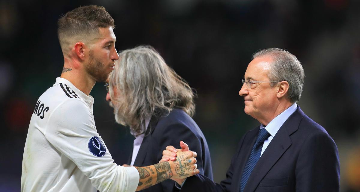 Real Madrid - Mercato : la phrase choc de Pérez à Ramos à propos du PSG !