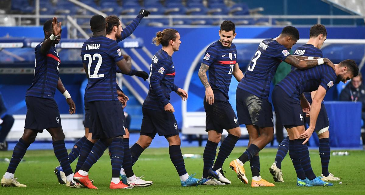 Ligue des Nations : France 2-1 Suède (mi-temps)