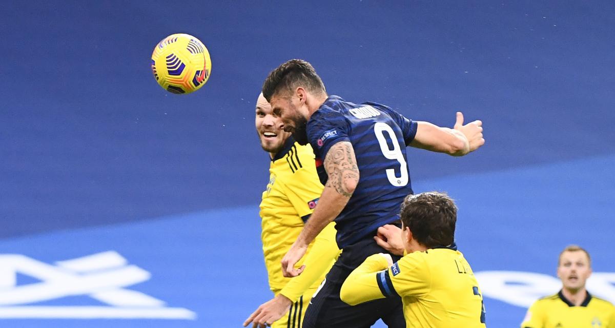 Ligue des Nations : France 4-2 Suède (terminé)