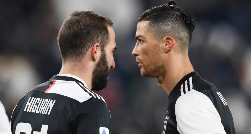 Juventus : la vengeance pas très classe d'Higuain vis-à-vis Ronaldo