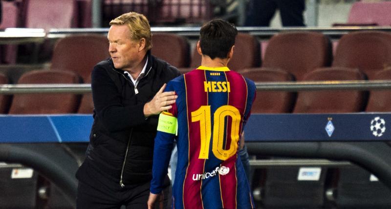 FC Barcelone: Koeman explose sur la polémique Messi – Griezmann!