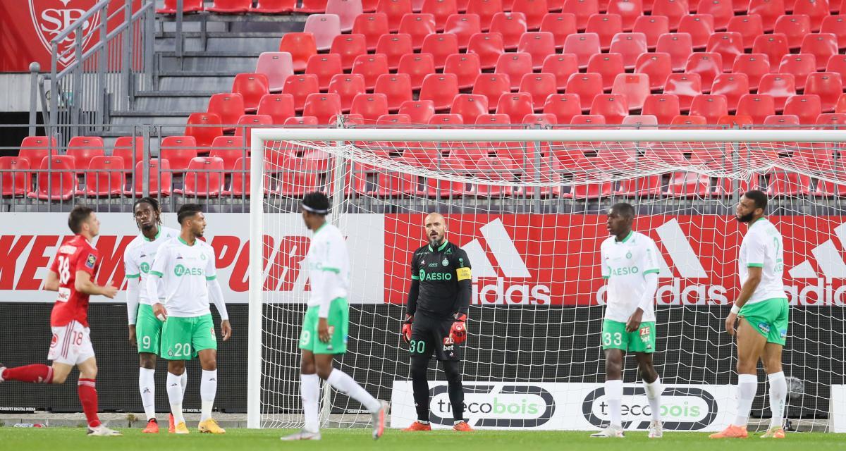 Stade Brestois – ASSE (4-1) : Les notes du match pour les Verts