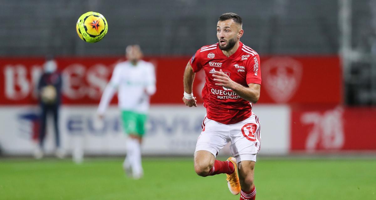 Stade Brestois – ASSE (4-1) : le geste classe de Franck Honorat après avoir plombé les Verts