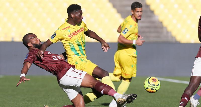 Résultat Ligue 1 : le FC Nantes accroché à domicile par le FC Metz (1-1)