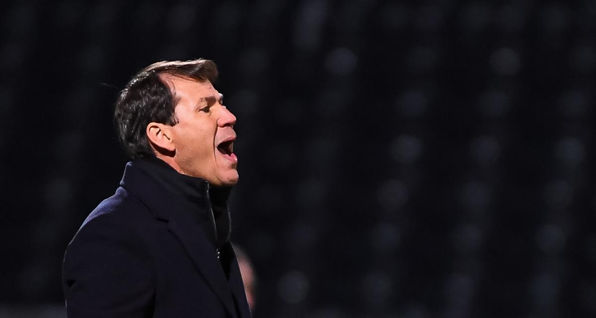 SCO Angers – OL (0-1): Rudi Garcia peste contre la pelouse et l'arbitrage mais félicite son banc