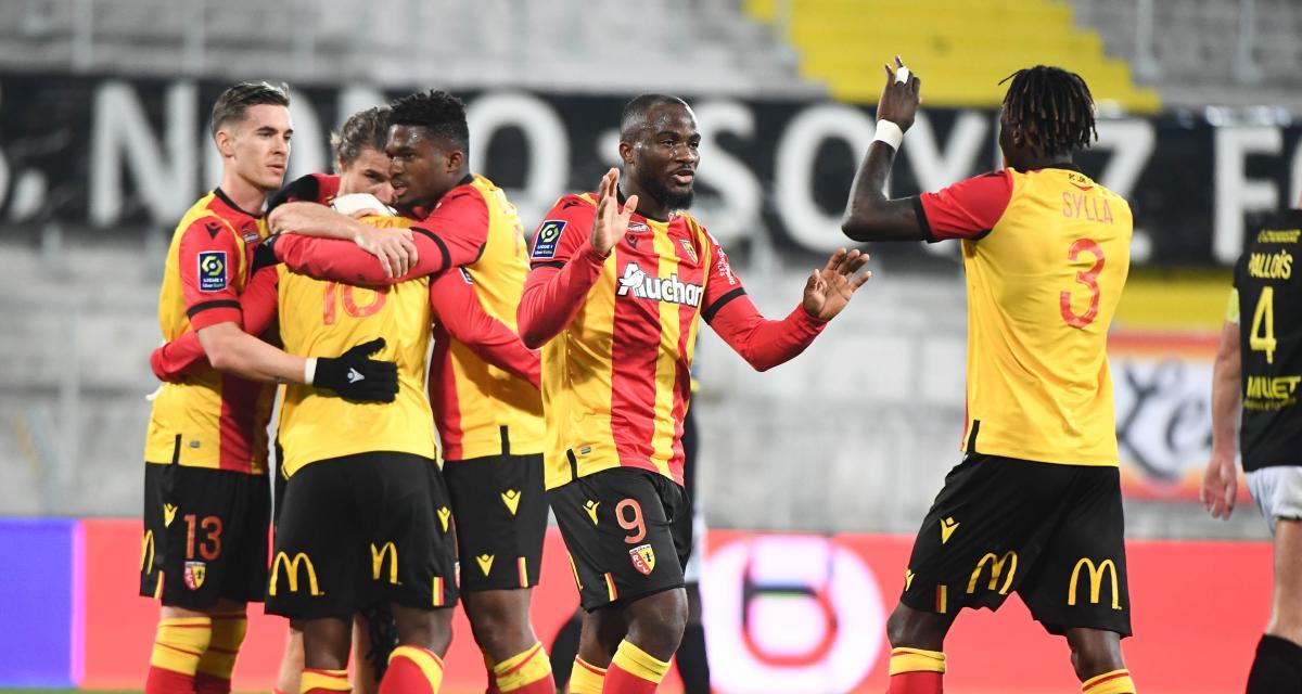 Résultat Ligue 1 : RC Lens 1-1 FC Nantes (terminé)
